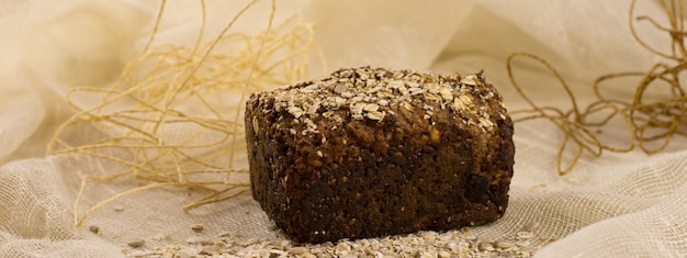 Зерновой хлеб с семечками