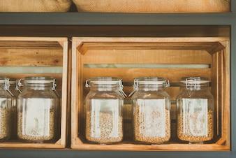 Grain brown morning cafe white