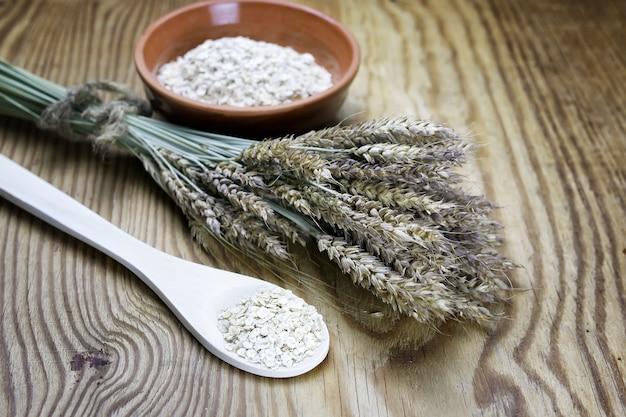 콩나물 곡물 시리얼 그릇