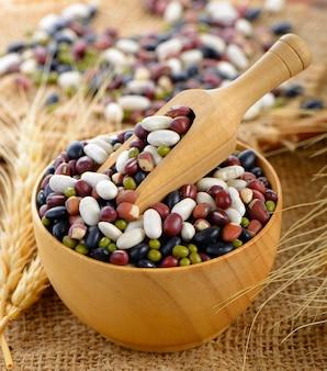 Grains mix beans