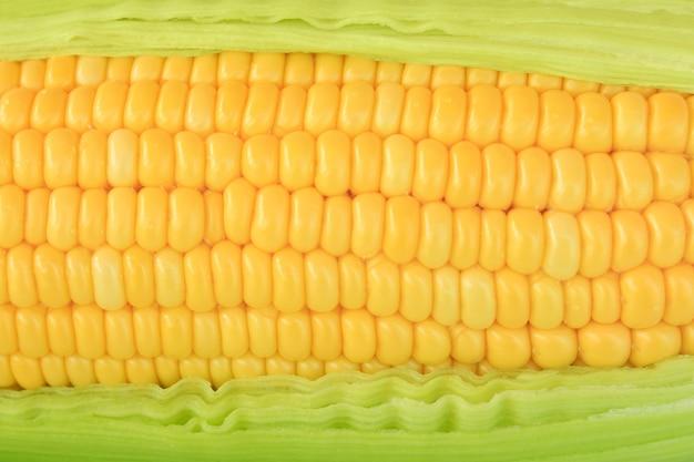 Зерна спелой кукурузы фона