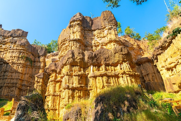 The grand canyon chiang mai or pha chor in mae wang national park, chiang mai, thailand