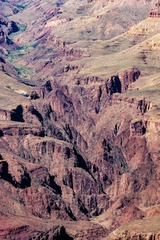 Parco nazionale del grand canyon, west rim