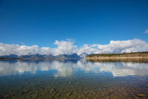 グランドティトン国立公園、ワイオミング、米国。