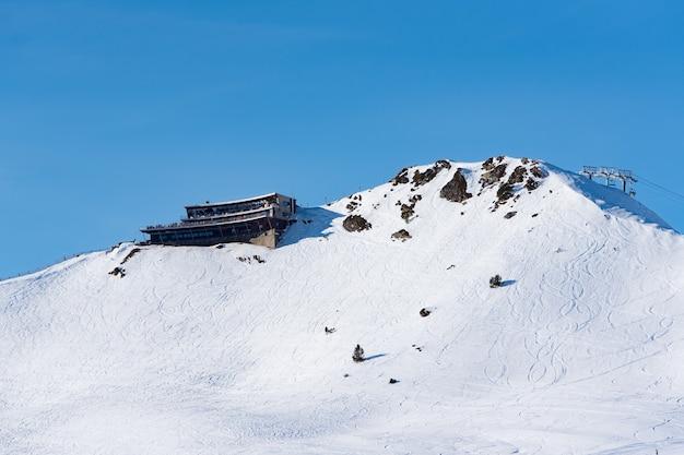 안도라의 grandvalira 스키장.