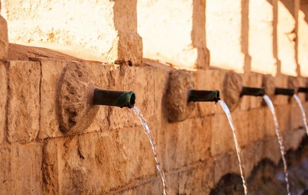 Granfonte、leonforteのバロック様式の噴水