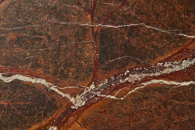 Granite brown surface of graphic abstract texture stone background, copy space. natural background for interior decoration.