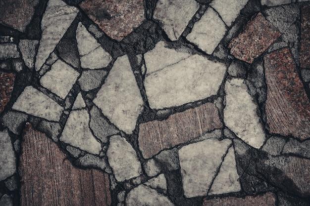 Granite floor stone surface