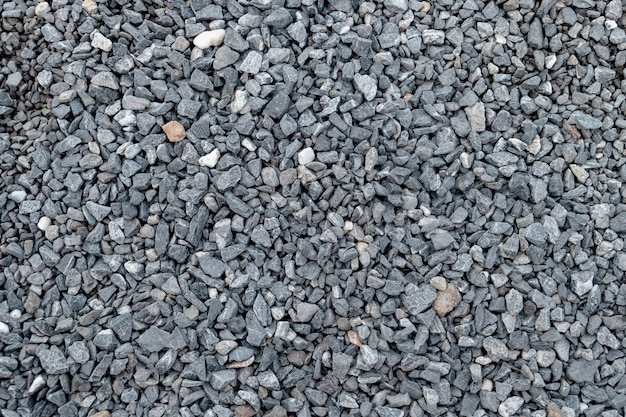 Granite gravel pattern and texture for landscape and construction.