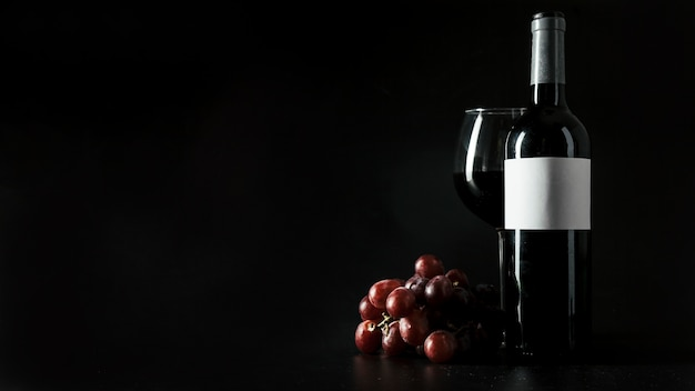 Grape near wine