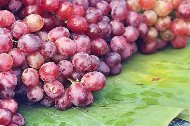 Grape at street food