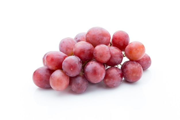Grape on white isolated