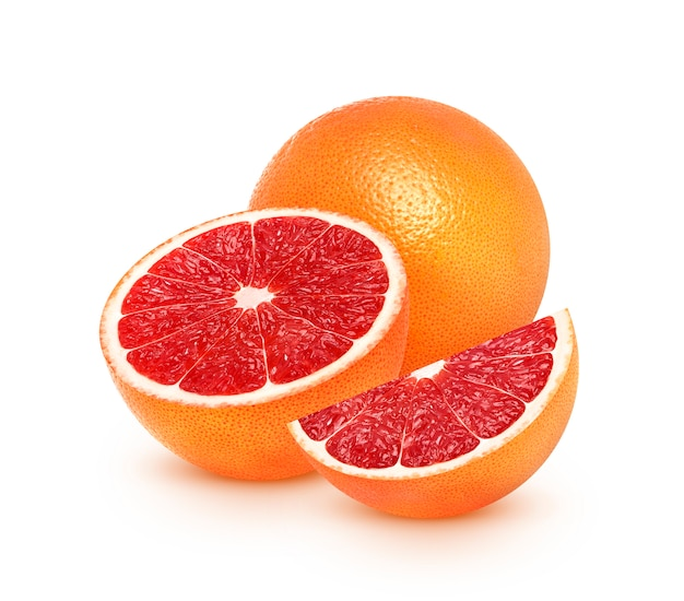 Grapefruit citrus fruit isolated