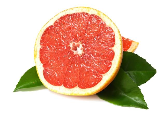 Грейпфрут изолирован