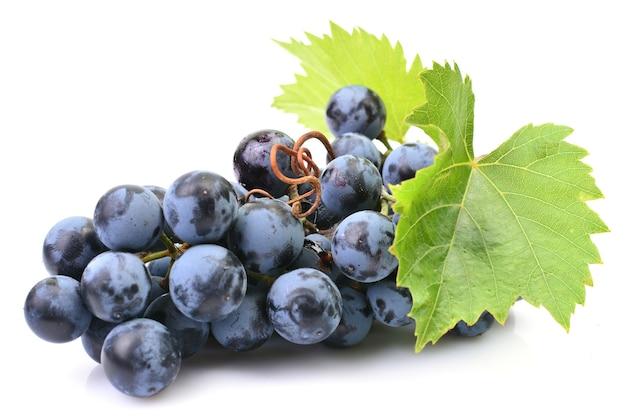 Виноград, изолированные на белом фоне