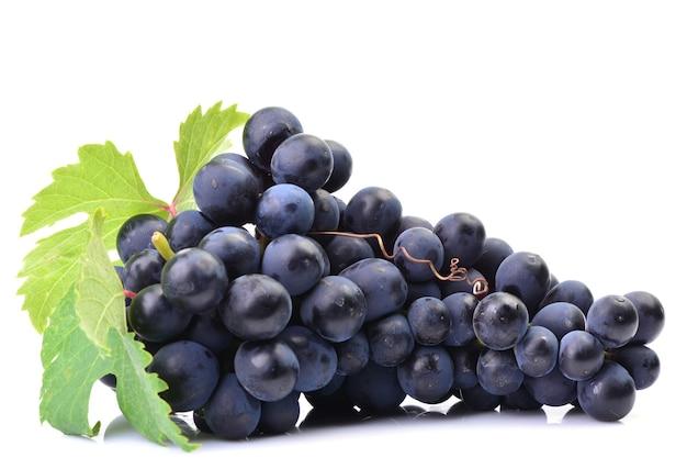 Виноград на белом пространстве