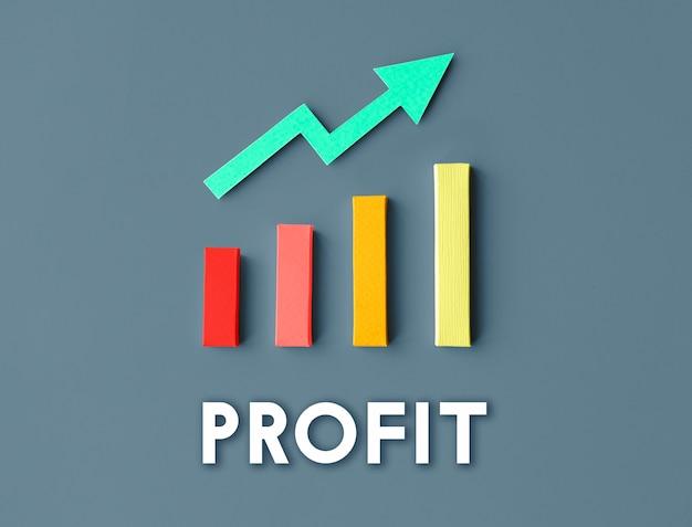 Концепция успеха повышения прибыли развития роста графа