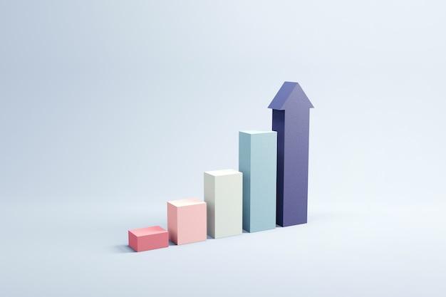 Рост графика со стрелкой вверх