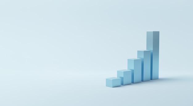 График успеха роста. Premium Фотографии