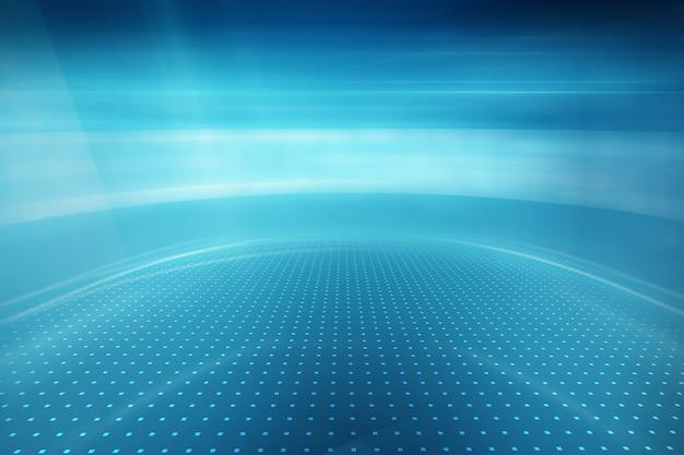 現代の舞台に光線で、グラフィカルな抽象的な技術の背景