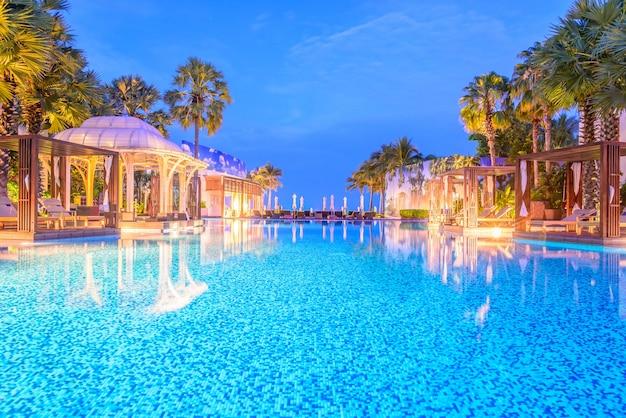 Grass luxury beach resort travel
