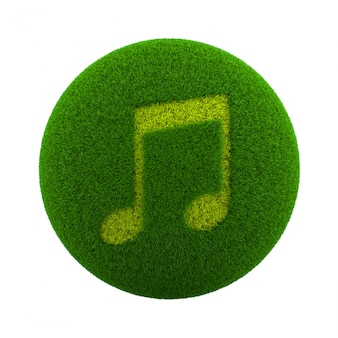 Трава сфера музыка иконка
