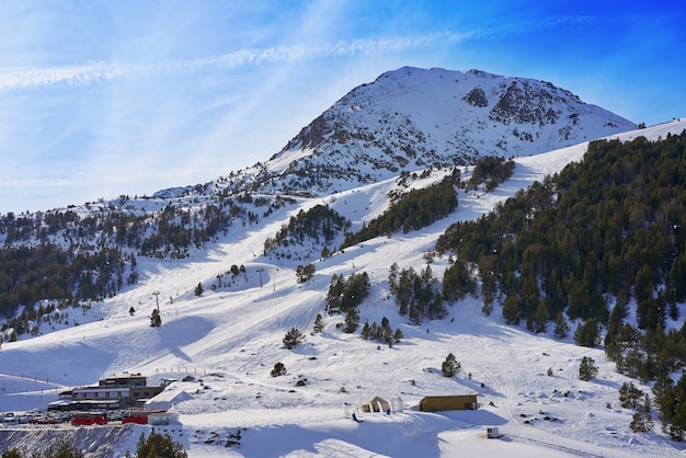 Grau roig ski resort in andorra grandvalira