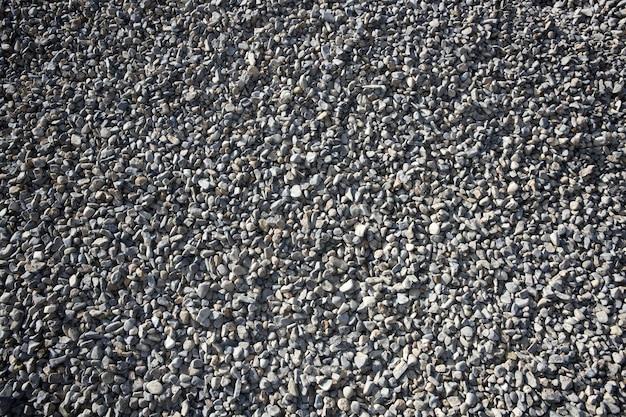 Gravel closeup background gray pattern sand