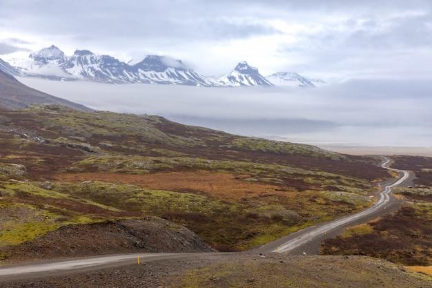 Gravel road iceland