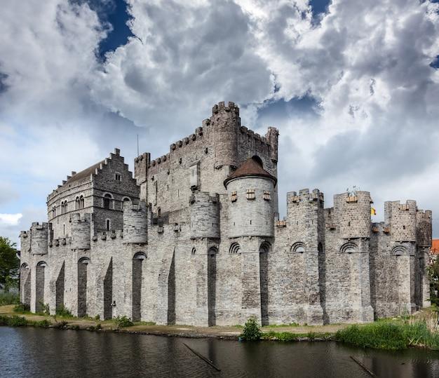 ゲントのグラーベンスティーン城