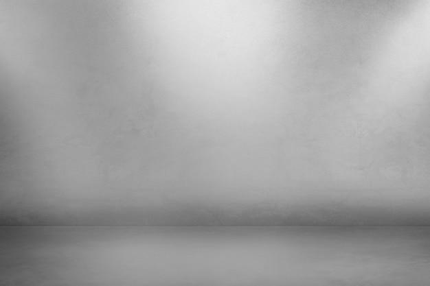 Sfondo grigio prodotto 3d in stile loft con ombra