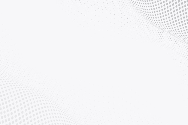 Gray abstract wireframe technology background
