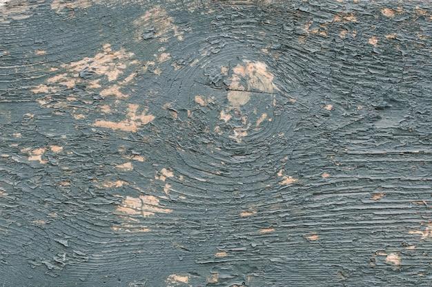 Серо-синяя деревянная доска с облупившейся краской