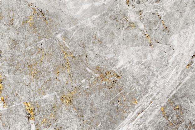 グレーとゴールドの大理石の質感