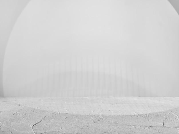 製品プレゼンテーションの灰色の背景