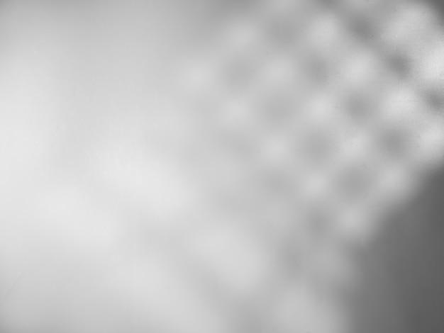窓からの光と灰色の背景オーバーレイ