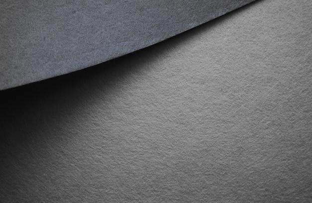 Серый пустой гранж листы текстуры абстрактный фон плотная фетровая бумага узор расположение