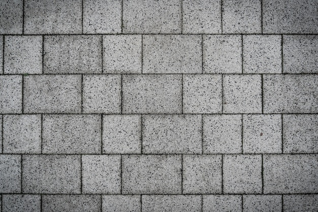 Серый кирпич скалы камни проложили пол текстура дизайн