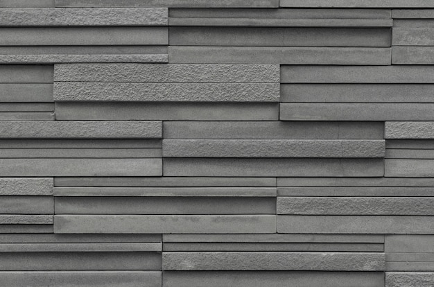 Gray brick slate wall texture background