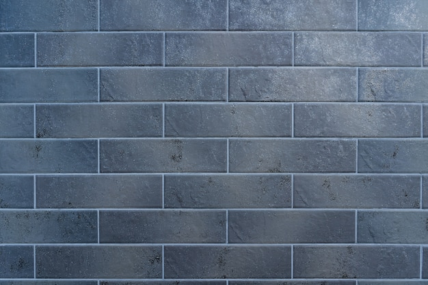 Серая кирпичная стена. текстура кирпича с белой заливкой