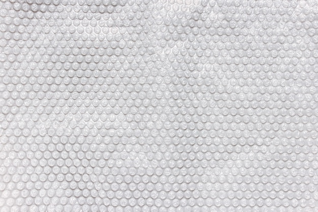 Gray bubble foil for wrapping, texture background