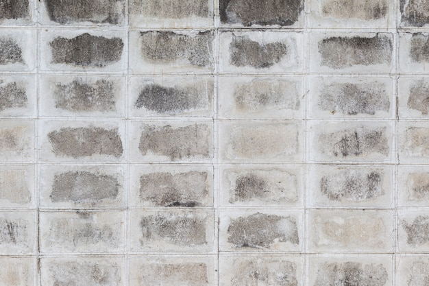 Gray cement  brick wall texture background