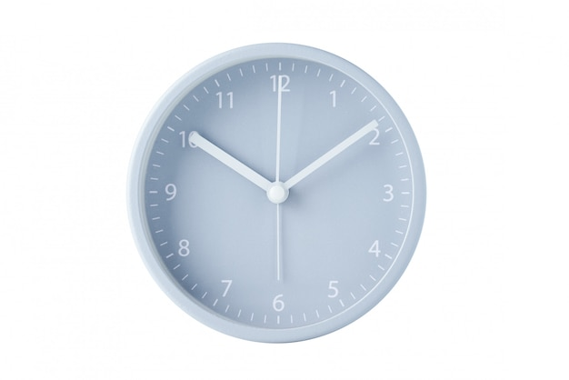 Gray classic alarm clock