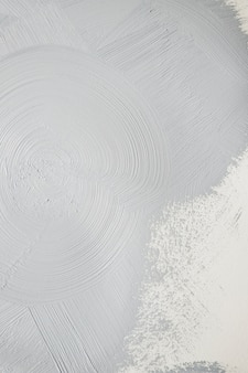 Gray colored paint in strokes