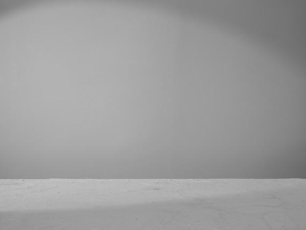 製品プレゼンテーションの灰色のコンクリートの背景