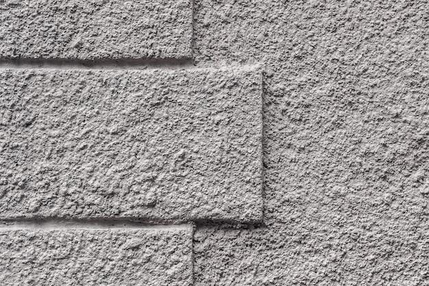 長方形の棚と灰色のコンクリートの背景。