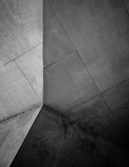 Soffitto dell'edificio in cemento grigio