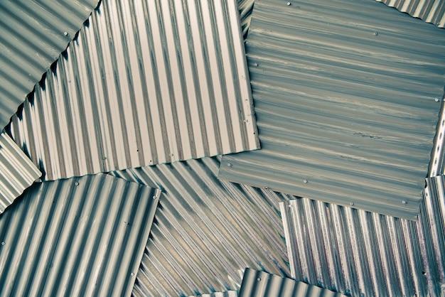 산업에 회색 골판지 금속 시트 클래딩