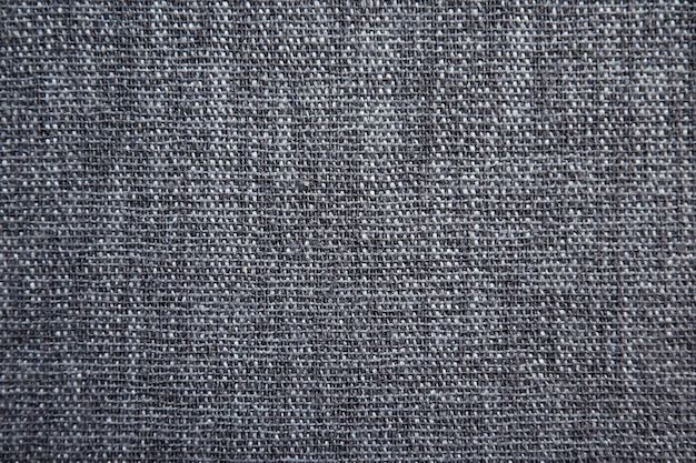 Gray cotton fabric texture background.