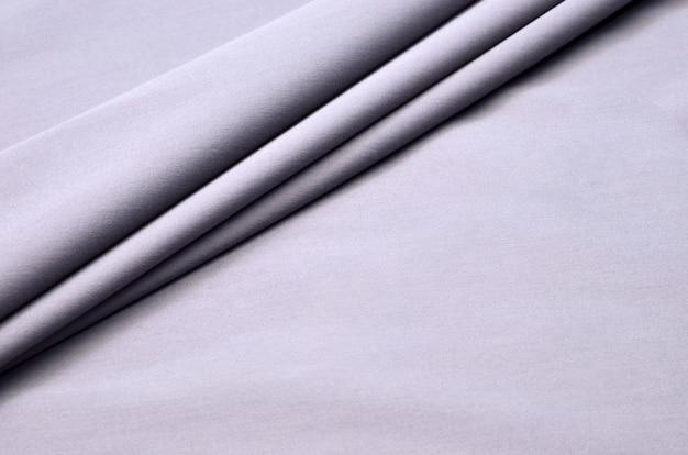 Gray cotton fabric